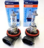 2x OSRAM 64212 H8 35W 12V HIGH TECH LONGLIFE...