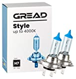 Gread - 2x H7 Halogen Lampen - stylisches...