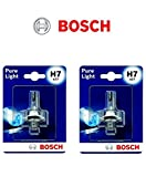 2x Bosch Pure Light H7 55W 12V Halogen Lampen Set...